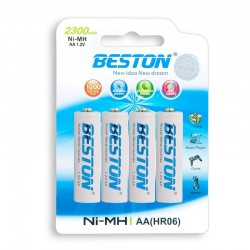 BATERIA BESTON AA RECARGABLE X 4