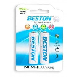 BATERIA BESTON AA RECARGABLE X2