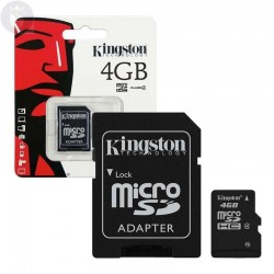 MICRO SD KINGSTON 4 GIGAS
