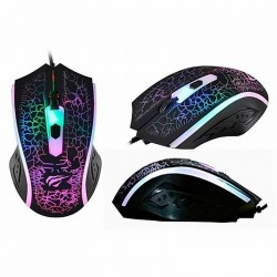 MOUSE GAMER HAVIT Hv-ms736 Led Rgb 1200 Dpi 4 Botones